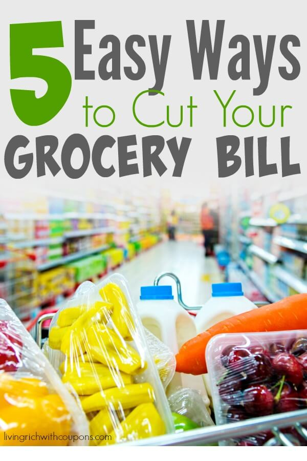 cut grocery bill