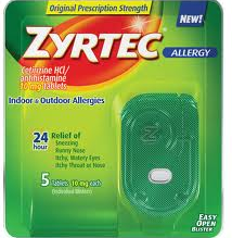 photograph relating to Printable Zyrtec Coupon titled Zyrtec Coupon - $6 off any Zyrtec 5 ct -Residing Abundant With