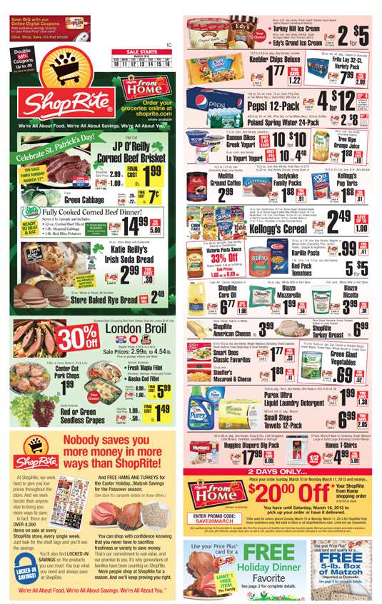 Texas Calculator Online >> ShopRite Coupons and Deals for the week of 3/10Living Rich With Coupons®