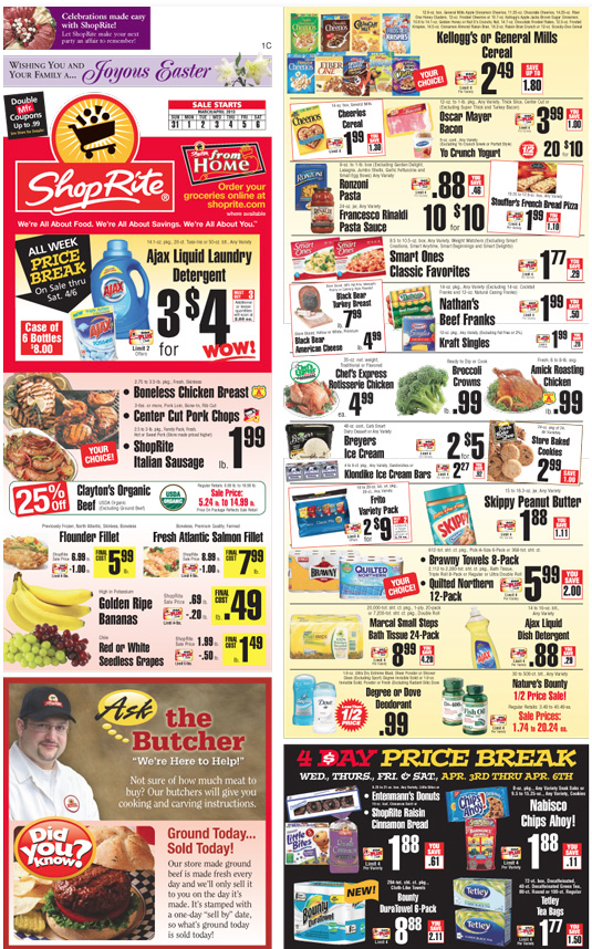 Shoprite Coupons And Deals For The Week Of 3 24living Rich