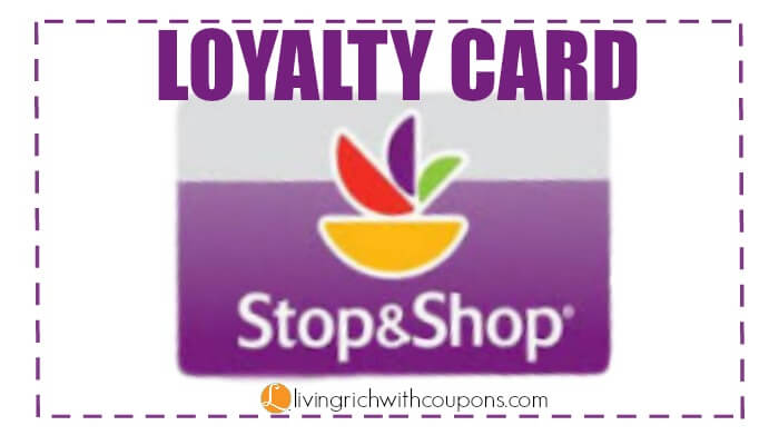 Sign Up For A Stop Shop Loyalty Card