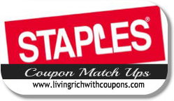 Staples Coupon Match Ups 5/19 - 5/25 -