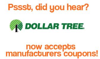 Dollar Tree Coupons this week - Dollar Tree Coupon Policy
