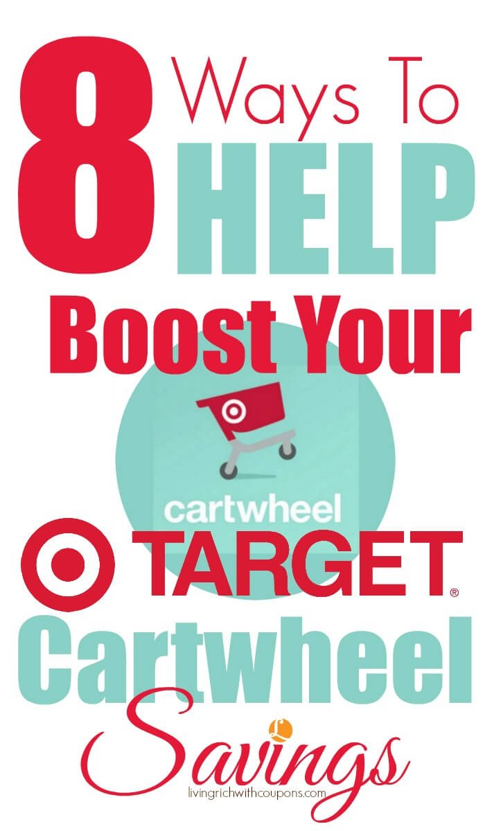 8 Ways to Help Boost Your Target Cartwheel Savings