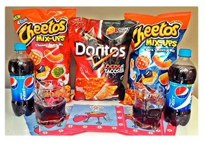 Frito-Lay Product Package for giveaway