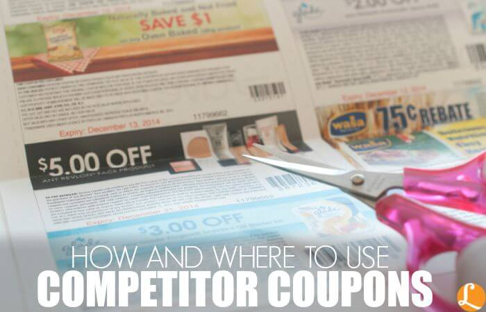 How and where to use competitor coupons