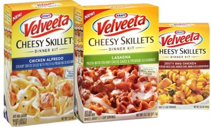 Velveeta Cheesy Skillets Coupon 1 00 Off Velveeta