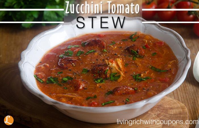 Zucchini Tomato Stew