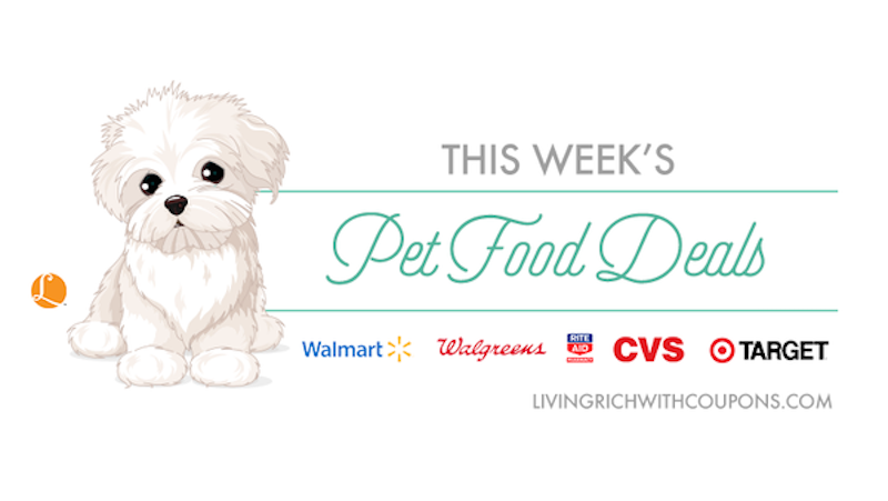 Pet Food Coupons Best Pet Food Deals This Weekliving Rich With