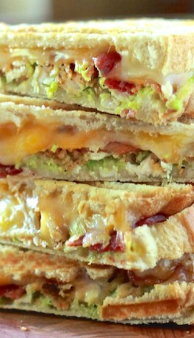 Chicken, Avocado, Bacon Panini