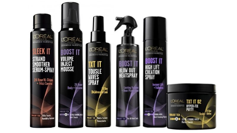 loreal hair styling products free l oreal advanced hair care styling products at target 2369 | loreal