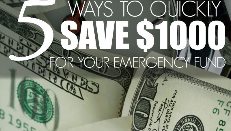 How to save money for emergency fund