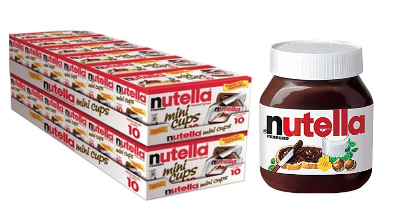 New $1 50/1 Nutella Hazelnut Spread or Mini Cups Coupon