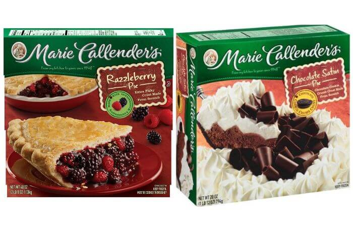 graphic regarding Marie Callender Coupons Printable named Refreshing $0.50/1 Marie Callenders Frozen Dessert Pie Coupon +