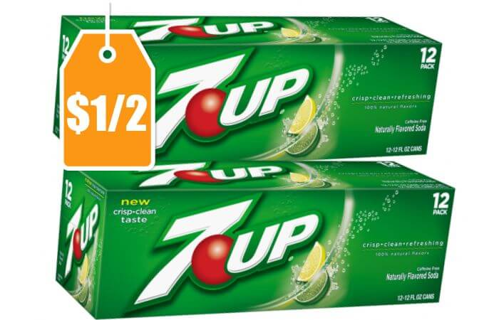 New 1 2 7up 12 Pack Cans Coupon Deals At Target