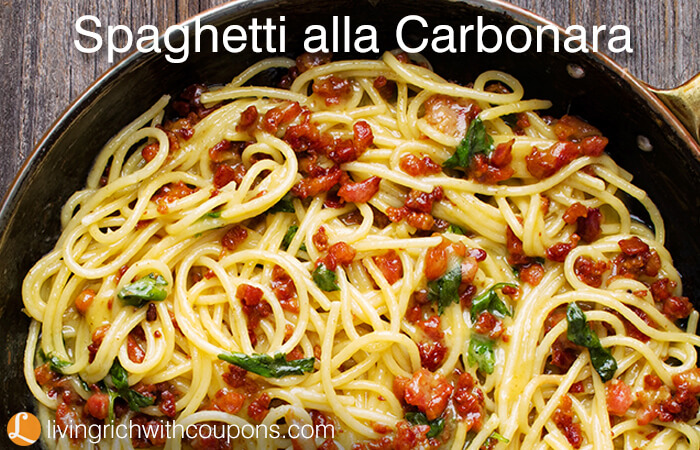 Celebrate Baconday With This Delicious Spaghetti Alla Carbonara