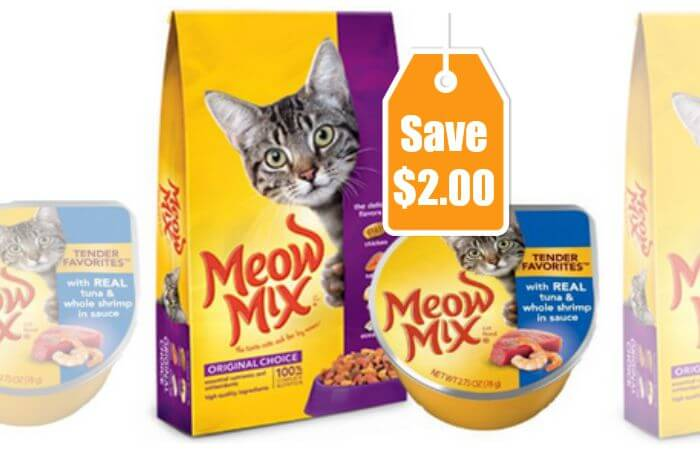 graphic about Meow Mix Coupon Printable known as 3 Contemporary Meow Incorporate Coupon codes - Conserve Previously mentioned $2 - $0.17 at Walmart