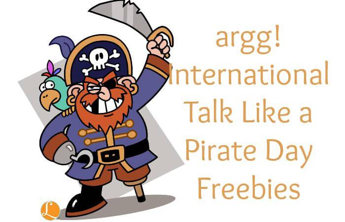 International Talk Like A Pirate Day Freebies 2015 9 19