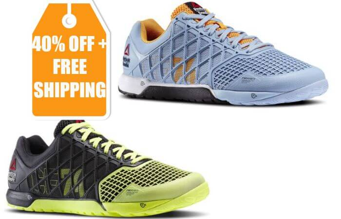 Reebok Men s and Women s Crossfit Nano 4.0 Shoes 40% off + Free ... ccb541abc