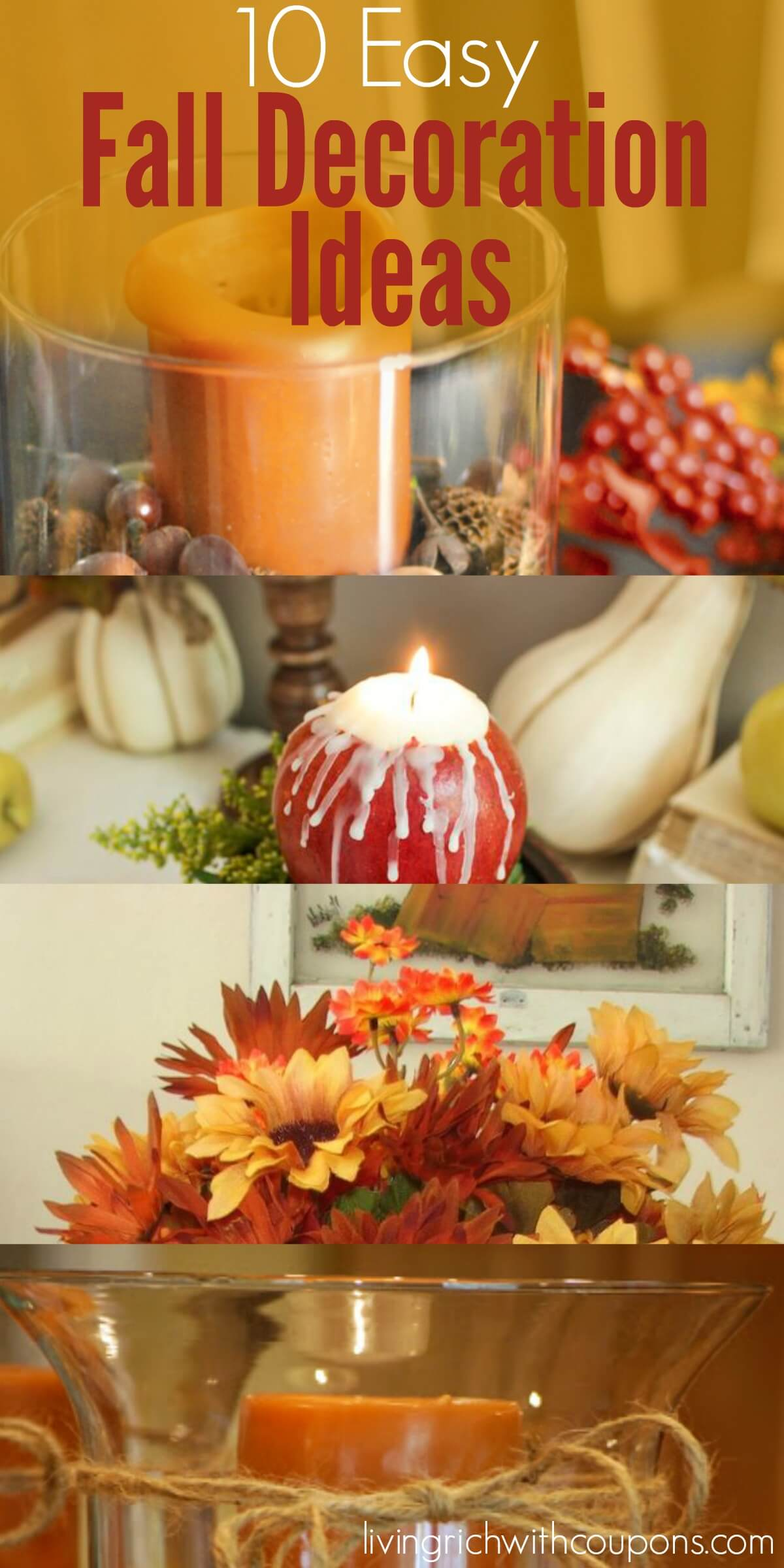 10 easy fall decoration ideas