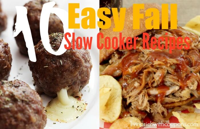 10 easy fall slow cooker recipes