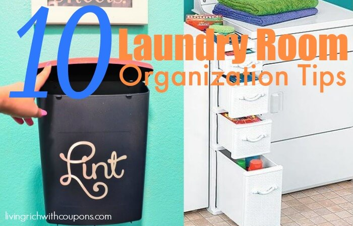 10 laundry room organization tips