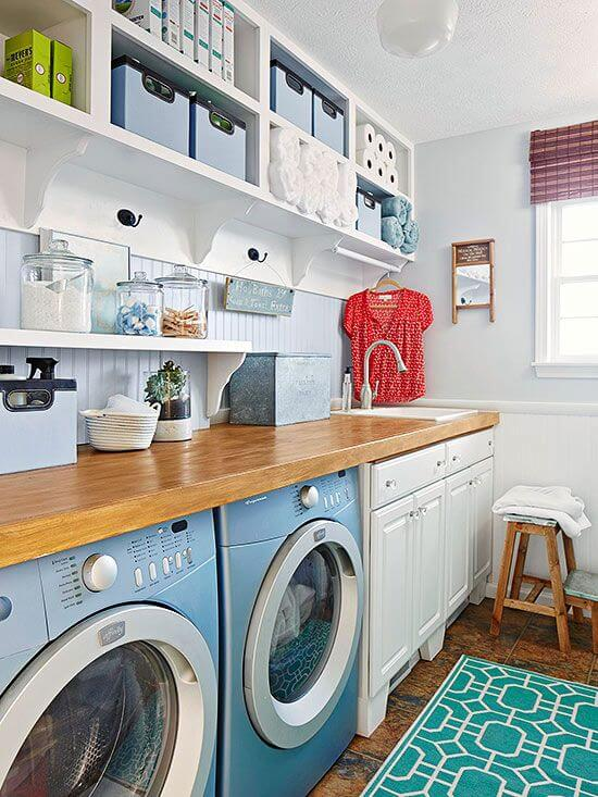 10 Unique Laundry Room Organization Tips | Living Rich ... on Laundry Room Organization Ideas  id=32394