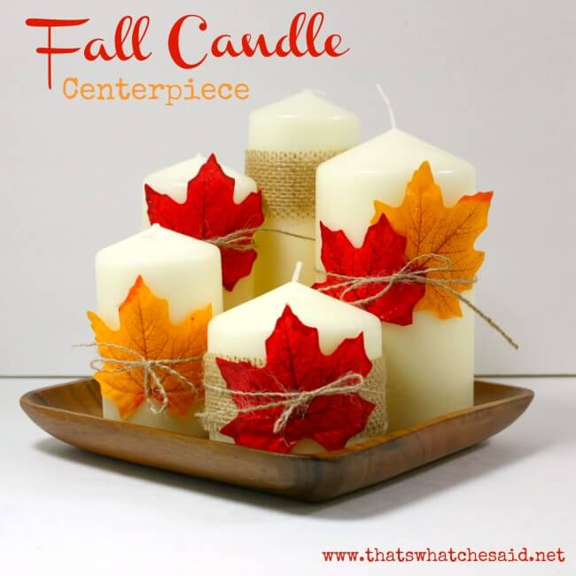 Candle-Leaf-Centerpiece