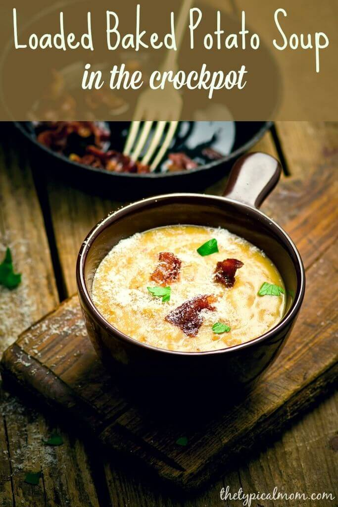 Baked Potato Soup Crockpot Recipe