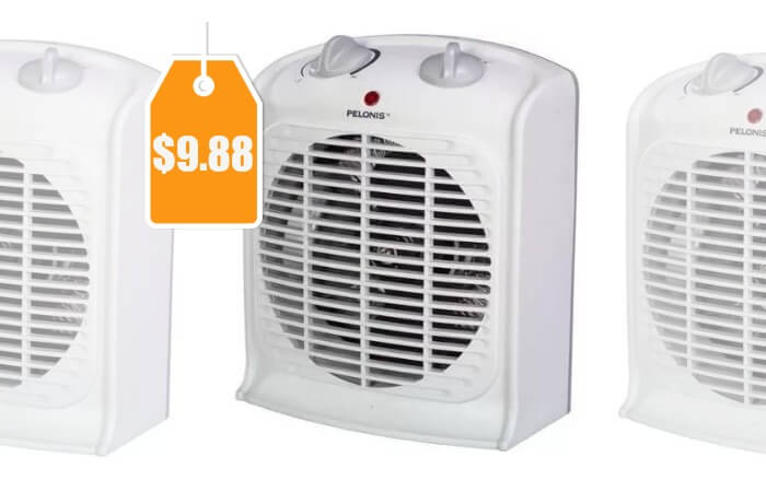 Pelonis Fan Forced Heater With Thermostat 9 88 Reg 20