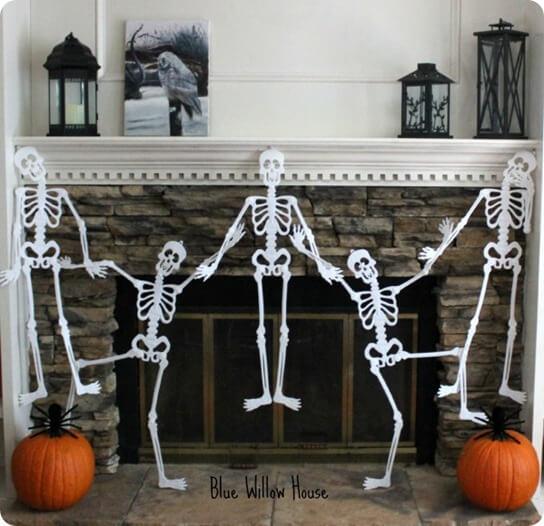 skeleton-garland