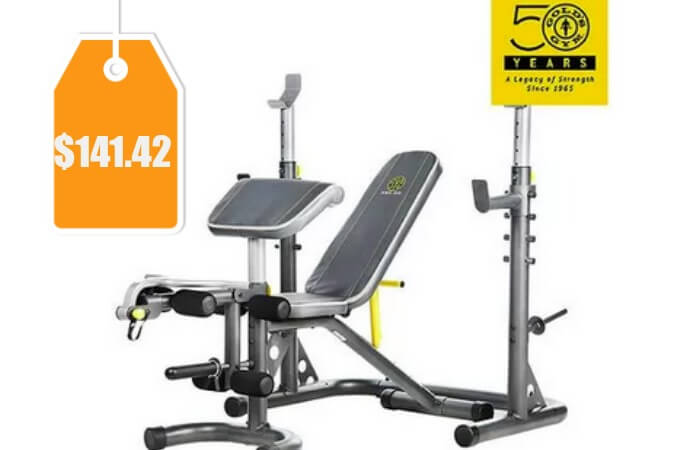 Gold S Gym Xrs 20 Olympic Workout Bench 141 42 Orig
