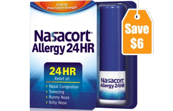 New 6 1 Nasacort Allergy 24hr Spray Coupon Deals At Rite Aid Walgreens Amp Moreliving Rich