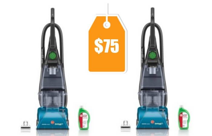 Hoover Steamvac Carpet Cleaner With Clean Surge 75 Reg