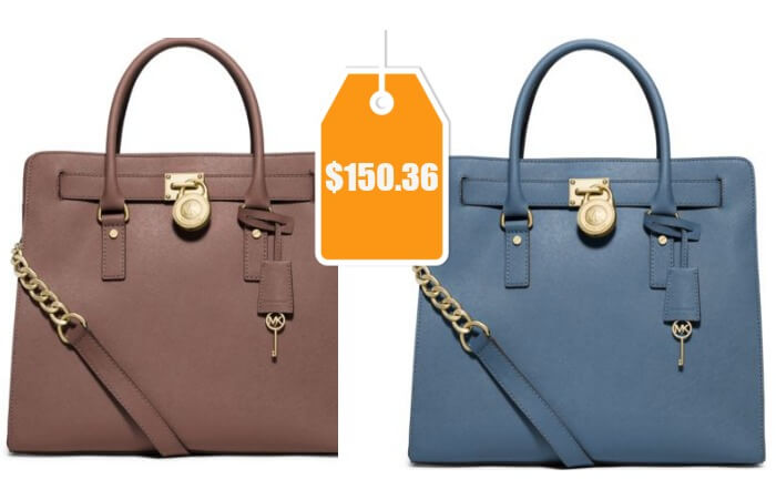 074fc4276528 Michael Kors Hamilton Large Saffiano Leather Tote  150.36 (Reg.  358) +  Free Shipping!