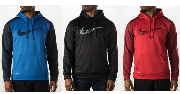 35abfaac Men's Nike KO Wetland Logo Pullover Hoodie $26.99 (Reg. $55) + Free ...