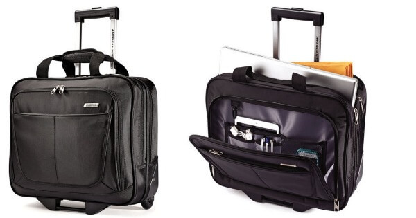 Luggage Deal Wow This Is A Great Get The American Tourister Wheeled Mobile Office
