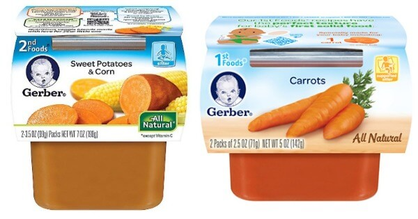 Gerber Baby Food Price List