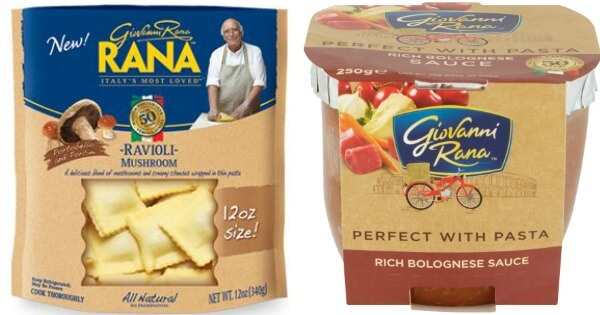 Giovanni Rana Pasta Refrigerated Sauce & Pasta as Low as $0.99 at ShopRite!Living Rich With Coupons®