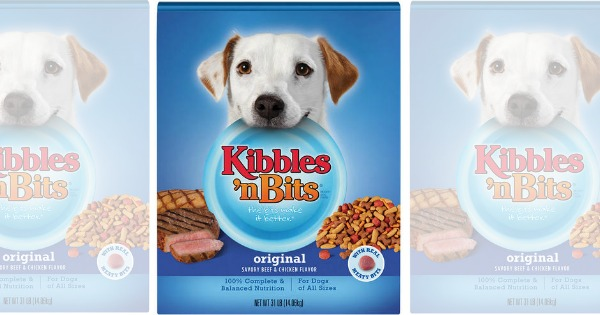 graphic regarding Kibbles and Bits Printable Coupons identify Contemporary $5/1 Kibbles n Bits Dry Puppy Food stuff Coupon + Walmart
