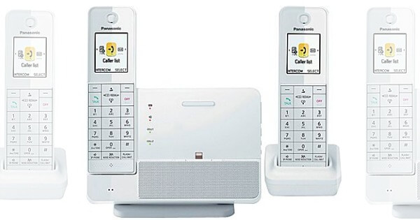 brand new 294a9 e456f Panasonic Link2Cell 2 Handset Cordless Telephone System with iPhone ...
