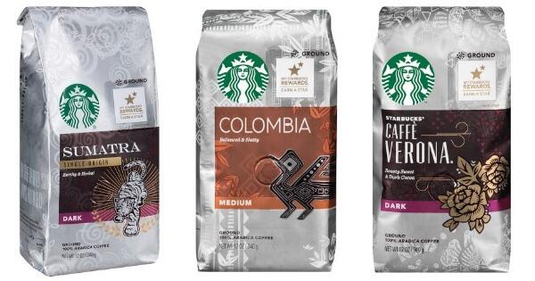 starbucks coffee bag
