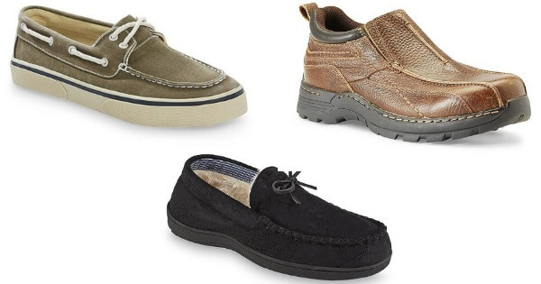 sears men s clearance shoes and slippers up to 75 off starting at