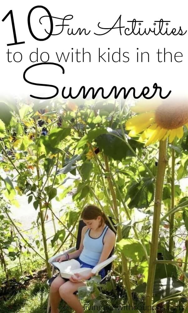 10 Fun Activities to do with kids in the Summer