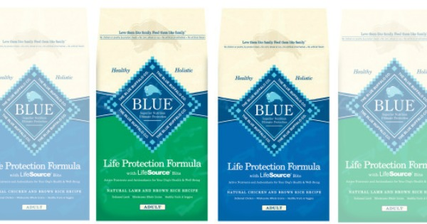 image regarding Blue Buffalo Dog Food Coupons Printable identify Exceptional! $5/1 Blue Buffalo Pet Foodstuff Coupon + Petco PetSmart