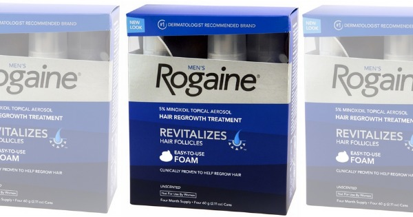 image regarding Rogaine Printable Coupon referred to as Refreshing $5/1 Rogaine Substance Coupon + CVS and Concentration DealsLiving