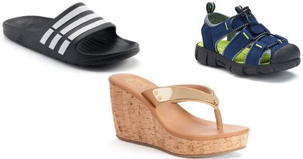997599191da5e7 Kohl s  Sandals for the Family 15% OFF +  10 OFF  40 Sandals