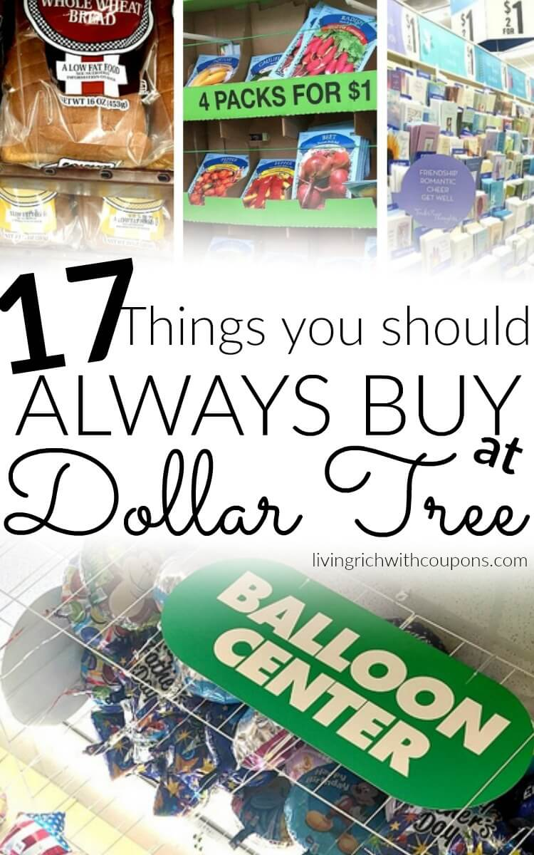 17 Things You Should Alwasy Buy at Dollar tree