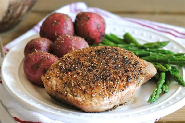 Steakhouse Pork Chops copy