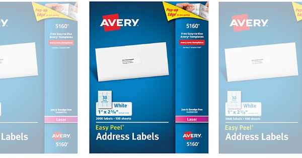 today only office depot max free avery white laser address labels